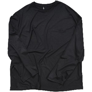 [FLARE] silky long sleeve (FL-111_Black)