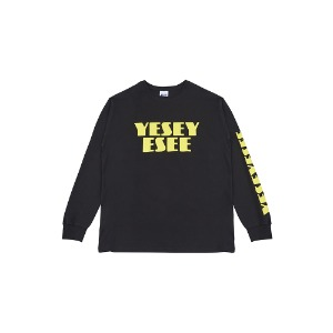 [YESEYESEE] C-Logo Long Sleeve Black