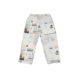 [YESEYESEE] Checklist Track Pants Ivory