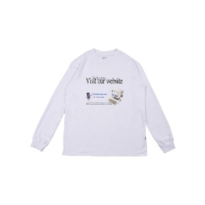 [YESEYESEE] V.O.W Long Sleeve White