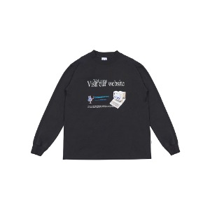 [YESEYESEE] V.O.W Long Sleeve Black