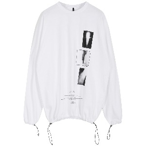 [FLAREUP] artwork dilettante long sleeve (FU-145_white)