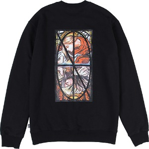 [낫포너드] Narcissism Crewneck - Black