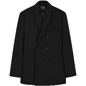 [FLARE] Tailored Double Breasted Blazer (FL-024)
