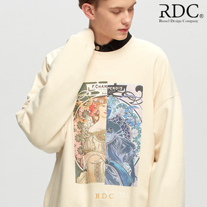[RDC] GODDESS CREAM SWEAT SHIRTS