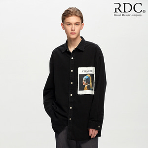 [RDC] VERMEER WARRIOR BLACK DENIM SHIRTS