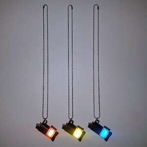 [RUNDS] reflect lighter necklace (3color)