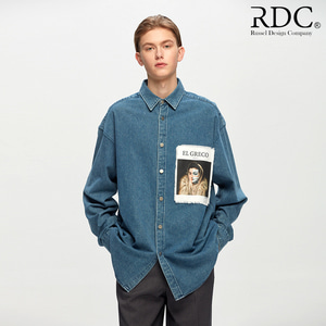 [RDC] EL GRECO ATTRACTION LIGHT COLOR DENIM SHIRTS