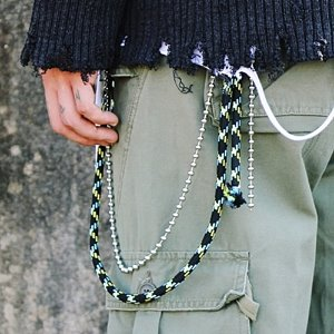[RUNDS] rope ballchain keyring (2color)