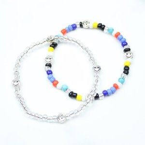 [RUNDS] SET-smile beads bracelet ver.2