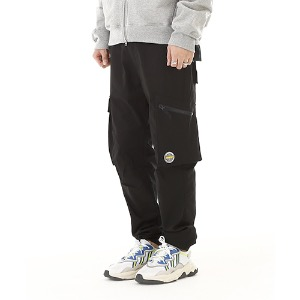 [RENDEZVOUZ] MULTI POCKET CARGO PANTS BLACK