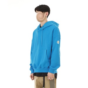 [RENDEZVOUZ] BASIC HOODIE AQUABLUE