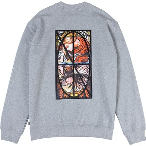 [낫포너드] Narcissism Crewneck - Grey