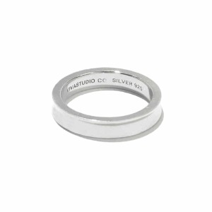 [viva studio] CURVED RING IA [SILVER]