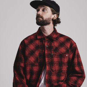 [스테이지 네임]VINTAGE check shirts jacket_RED