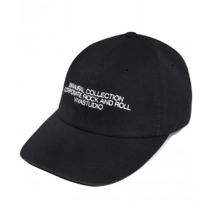[viva studio] WASHED BALL CAP IA [BLACK]