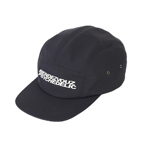 [RENDEZVOUZ] PSYCHEDELIC CAMP CAP BLACK