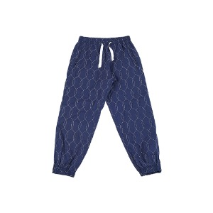 [YESEYESEE] Quilted Jogger pants Navy
