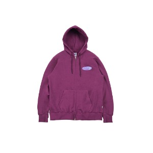 [YESEYESEE] Minnow Zip Up Hood Purple