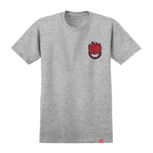 [Spitfire] LIL BIGHEAD FILL S/S T-Shirt - ATHLETIC HEAHTER / RED Print 51010388L