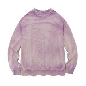 [viva studio] SPLATTER CREWNECK IA [PURPLE]
