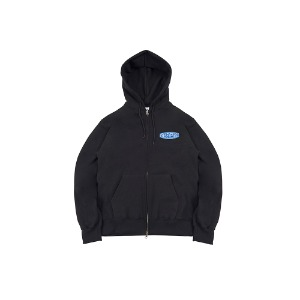 [YESEYESEE] Minnow Zip Up Hood Black