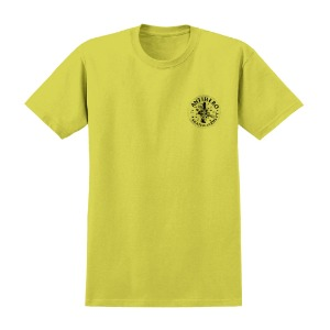 [Anti Hero] FREEFORM S/S T-Shirt - YELLOW / BLACK Prints 51020374