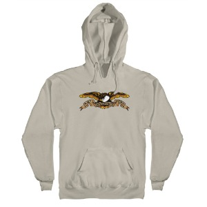 [Anti Hero] EAGLE Pullover Hood - BONE / MULTI-COLORED Print 53120001L