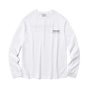 [viva studio] NEW BINAURAL LONG SLEEVE IA [WHITE]