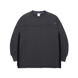 [더블에이씨] Galaxy HITman Crewneck -dark gray
