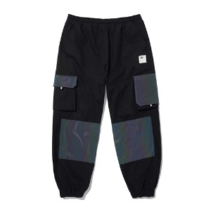 [더블에이씨] Hologram Utility Cago Pants -black