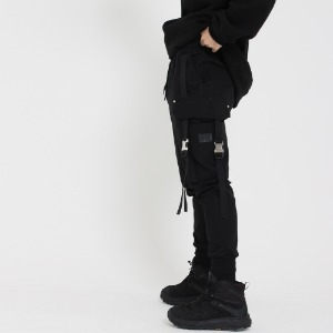 [UNCOMMEN/언커맨] UCN CLICK TECH JOGGER PANTS_BLACK