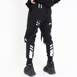 [UNCOMMEN/언커맨] UCN FIELD TECH JOGGER PANTS_BLACK