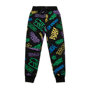 [STIGMA]PAINTING HEAVY SWEAT JOGGER PANTS - BLACK MULTI