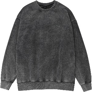 [FLARE UP] Snow Washing Dye Sweat Shirt (FU-149_MTM)