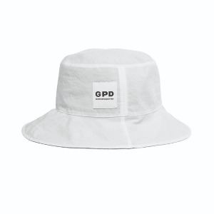 [GPD] Reversible Bucket Hat White