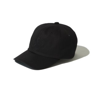 [KRUCHI] Paisley 6 Panel Cap (Black/bk)