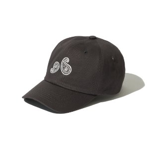 [KRUCHI] Paisley 6 Panel Cap (Dark grey)