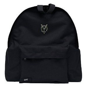 [OY] METAL LOGO BACKPACK-BLACK