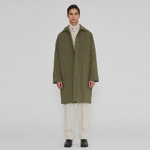 [IRONYPORNO]UNISEX DUCK DOWN MAC COAT IRO011 KHAKI