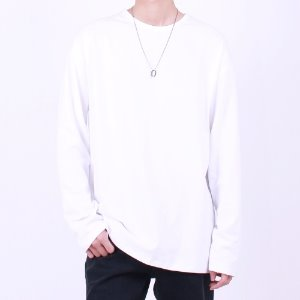 [Nar_Yoke] Basic Layered Long Sleeve - White