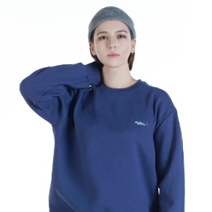 [레베니아] BTT SALMON SWEATHSHIRT_DEEPBLUE