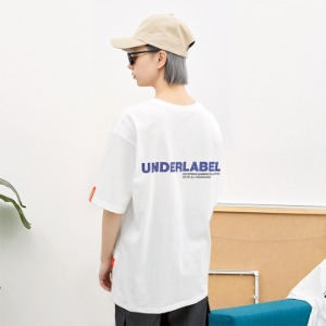 [언더라벨] SIGNATURE T-SHIRT_WHITE