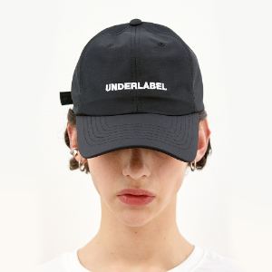[언더라벨] UNDERLABEL BALL CAP_BLACK