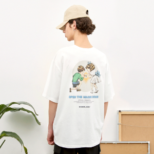 [언더라벨] MAGIC DOOR T-SHIRT_WHITE