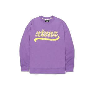 [XTONZ] XTM010 SKETCH SWEAT SHIRT (PURPLE)