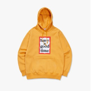 [have a good time] Frame Pullover Hoodie - Cheddar Cheeze