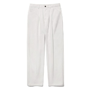 [viva studio] RELAX TUCK PANTS JS [WHITE]