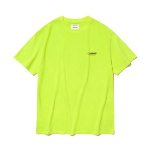 [viva studio]LOCATION SHORT SLEEVE JS [LIME YELLOW]