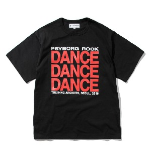 [KING] DANCE T-Shirt -Black